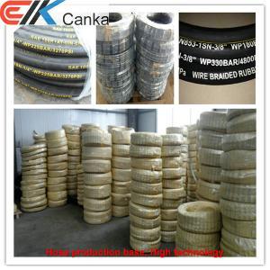 Wire braid hydraulic hose SAE R1 Manufactures