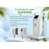 China Four Treatment Handles Cryolipolysis Slimming Machine With Touch Screen Fat Reduce on sale