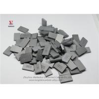 Square Cemented Carbide Tips , Heavy Duty Tungsten Carbide Tool Inserts Manufactures