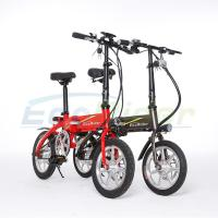 Easy foldable brushless electric bicycle 14inch Foldable Electric Bike for Sale Manufactures