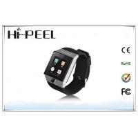 Dual Core Auto Recording Mobile Phone Android Watch Phone With Bluetooth Wifi Manufactures