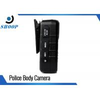 16GB IR Night Vision Police Body Worn Cameras For Law Enforcement 5MP CMOS Sensor Manufactures