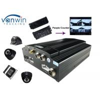 Linux Vehicle Mobile DVR Wireless Tally Passenger Counter System WIFI GPS 3G Passenger Manufactures