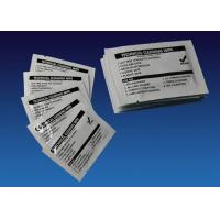 Technical Cleaning Wipes Currency Counter Cleaning Cards Pre Saturated With IPA Manufactures