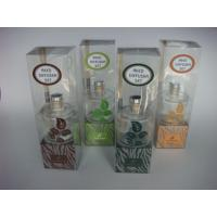 China glass reed diffuser gift set on sale