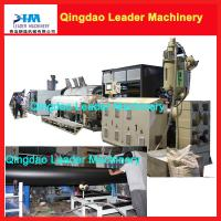 plastic pipe production machine 160-400mm HDPE gas and water pipe extrusion machine Manufactures