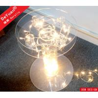 LED Lighting Acrylic Holder Stand Crystal Cake Stand Round For Party Manufactures