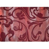 Funky 100% Polyester Velvet Fabric Contemporary Upholstery Fabric Manufactures