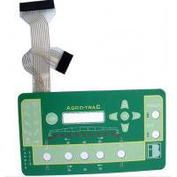 PC Keyboard Membrane Switch For Farm Machinery 250V DC Insulation Resistance Manufactures