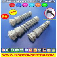 China Bend and Flex Protecting Cable Gland with NPT Connection Thread on sale