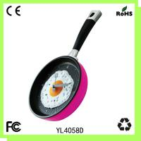 Plastic pan clock/kitchen wall clock/hot sell Manufactures