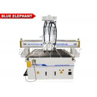 Buy cheap Pneumatic Multi - Head CNC Router Engraver Machine With 3 Spindles 0 - 18000 Rpm from wholesalers