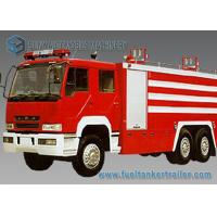 6X4 12000L Water Fire Fighting Trucks 360hp FAW Chassis Double Row Cabin