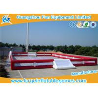Professional Inflatable Football Pitch , Commercial Grade Inflatable Soccer Arena Manufactures