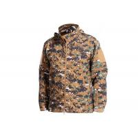 China Woodalnd Tactical Camo Jacket Cold - Proof For Outdoor Fishing Military Style on sale