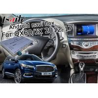 1.2GHz Quad Android Car Navigation Box Yandex Navi For Infiniti QX60 / JX 2012 - 2016 Manufactures