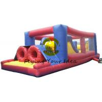 PVC Inflatable Castle Bouncer Kids With Blowers For Commercial Manufactures