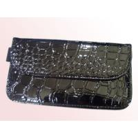 PU leather crocodile grain cell phone signal shielding bag - black Manufactures