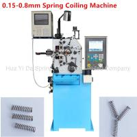 Buy cheap Custom CNC Spring Machine / Spiral Spring Machine For Wire Size 0.8mm from wholesalers
