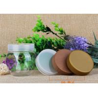 225ml Round Storage Bottle PP Lids Small Plastic Jars For Candy / Chocolate / Nuts Manufactures