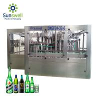 Brewery Use Automatic Bottle Filling And Capping Machine 5000 Bottles Per Hour Rotary Type Manufactures