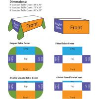 table covers sizes