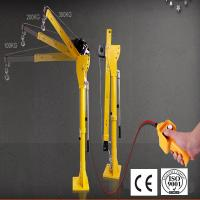 Vehicle-mounted HP1000 12V DC small electric hoist winch truck crane Manufactures