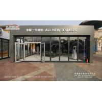 China Square modular tent 10x10 with glass walls for commercial events on sale