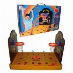 Plastic Basketball Against Finger Board Game Play Toy, EN71 Standard Manufactures