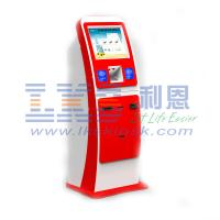 China LKS Indoor Kiosk Cash Deposit Machine Payment Terminal Android / Linux / JOS on sale