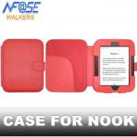 Rosy Smart Simple Nook Leather Case , Stand Nook Tablet Covers And Cases Manufactures