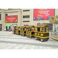 Outdoor Electric Trackless Train  / Shopping Mall Train 42 Set Bee Series Manufactures