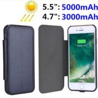 Luxury Solar Panel Power Case For iPhone 7 Plus 6s Battery Backup Charging Cover Manufactures