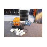 15W Small LED Solar Lighting Kit(Solar Panel& Lights & Mobile phone Charger & Rechargeable Batteries ) Manufactures