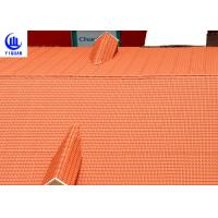 Coloured Glaze Asa Upvc Synthetic Resin Roof Tile 2.5mm thickness Bamboo Design Manufactures