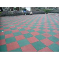 Primary Schools Playground Safety Surface Rubber Tiles High Density Durable Mat Manufactures