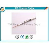 China Small 50ohm RG174 Coaxial Cable For Antenna / Communication Telecom on sale