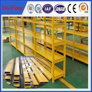China manufacture of aluminium price per kg, aluminium profiles for shelf Manufactures