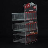 China 3 Tiers Clear Acrylic Display Stand on sale
