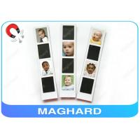 Blank Magnetic Photo Frame Collage , Baby Fridge Magnets with Epoxy OEM Manufactures