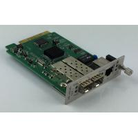 Remote Management 10G Media Converter  With 1 + 1 Fiber Optical Protection Manufactures