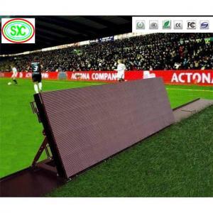 China Soccer Football Basketball Banner Perimeter P10 Stadium LED Display on sale