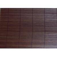 China Wear Resistant Bamboo Roll Up Curtains , Eco Friendly Bamboo Roman Window Shades on sale