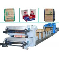 High Speed Starch Food Bag Making Machine  with PLC Control For Paper Bag Manufactures
