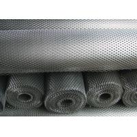 Anti Slipping Expanded Metal Mesh Low Carbon Steel Material 4.5mm - 100mm LWM Manufactures