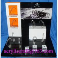 China Table top acrylic watch display stand for advertising in watch store on sale