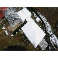 Snowproof Waterproof Outdoor Party Tents For Wedding Receptions Manufactures