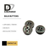 Buy cheap Eco - Friendly 4 Holes Resin Buttons , Mother Of Pearl Buttons Bulk Orders from wholesalers