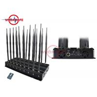 China Full Band Mobile Phone Signal Jammer , Mobile Jammer Device CDMA850MHz 35dbm / 3W on sale