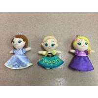 4 inch Lovely Frozen Plush Keychain Stuffed Toys Red Blue Yellow Manufactures